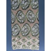 Quality Original Swiss Voile Lace Light Embroidered For Sofa / Curtain wholesale