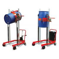 Quality 300kg drum lifter, CA-E301 manual oil drum truck for emptying and transporting drums wholesale