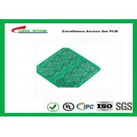 Quality 1 Layer CEM 1 PCB 1.6mm 1OZ Green Solder Mask E-TEST with Fiducial Marks wholesale