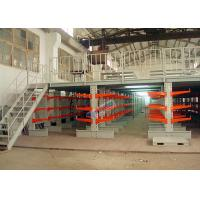 Quality Supply Chain 800 mm Length Cantilever Storage Racks 100 Kg Upright Load wholesale