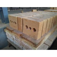 Quality Shaped Insulating Fire Clay Brick Refractory For Pizza Oven / Blast Furnaces wholesale