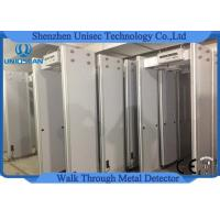 Quality 6 Zones LED Screen Security Scanner Door Frame , Metal Detector Body Scanner UB500 wholesale