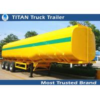 Quality 40000 Liters milk tanker trailer , 1 3 5 compartment pneumatic tank trailers wholesale