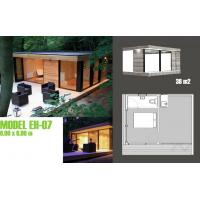 Quality Modern Moveable Accents Holiday Home / Prefabricated Garden Studio For Holiday Living wholesale