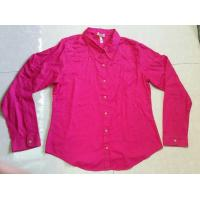 Quality wholesale solid color women blouse ,autumn tops, Career