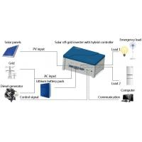 China 1kw Off Grid Pure Sine Wave Solar Inverter With MPPT Charger Controller AC Charger Hybrid on sale