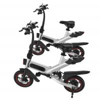 Quality Lithium Battery Smart Electric Bike , 12 Inch One Second Folding Electric Bike wholesale
