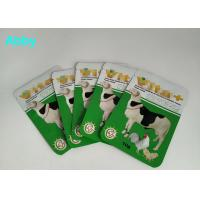 China Logo Customized Pet Food Pouch , Gree Color Food Packaging Bags For Animals on sale