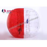 China Red Free Shipping Inflatable Sports Equipment Water Roller Ball 100% Tpu on sale