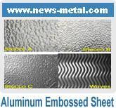 Quality Aluminum Stucco Embossed Sheet wholesale