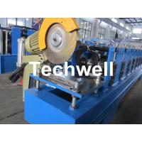Quality 13 Forming Stations Roller Shutter Door Cold Roll Forming Machine With Manual Decoiler wholesale