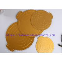 China Factory  Price Champagne Gold PET Metallic Foil Paper for Cake Board/ Packaging Box on sale