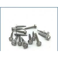 Cheap Passivated Stainless Steel Bolt , Stainless Steel Flange Bolts With Washer Self for sale