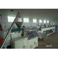 Quality PVC 4 - Cavity Pipe Extrusion Production Line / Plastic Pipe Threading Machine wholesale