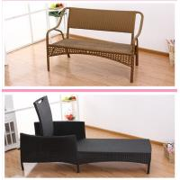 Quality summer swimming garden patio pool rattan chaise lounge wholesale