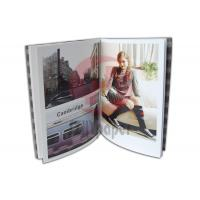 Quality Garment /clothing brochure with folded cover colour brochure prinitng wholesale