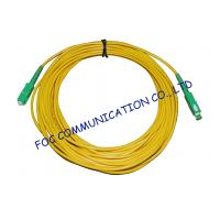 Quality High Stability Fiber Optic Cable Assembly , CATV System SM Simplex SC SC Patch Cord wholesale