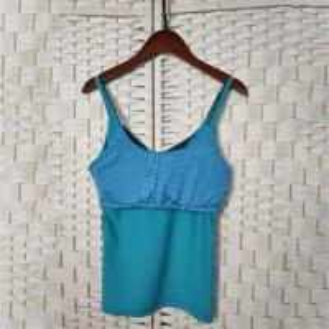 China Blue Tight Seamless & Sports Garment , Sexy Women's Yoga Tank Top on sale