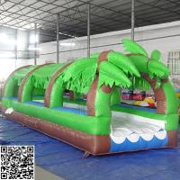 Quality Giant Pvc Forest Inflatable Slide Inflatable Amusement Park Equipment OEM / ODM wholesale