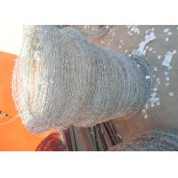 Quality Q195 High Tensile Barbed Wire , Double Strand Barbed Wire For Security Fence wholesale