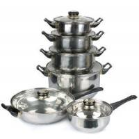 Quality 12PCS Stainless Steel Cookware Set wholesale