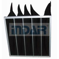 Quality High Efficiency Air Conditioner Air Filter Activated Carbon Black Bag Pocket wholesale