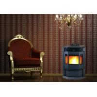 Quality High Heat Output Indoor Pellet Stove With Smart Control Steel Coating Material wholesale