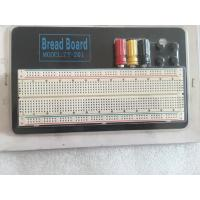 Quality Round Hole Soldered Breadboard Projects With Aluminum Plate 18.5 * 11 * 0.12cm wholesale