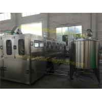 Quality Mineral / Purified 5 Gallon Water Filling Machine PLC Control For 19 Liter 20 Liter wholesale