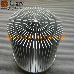 "GLR-PF-120062 4.724"" forged round led heatsink; 45W led cooling"
