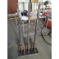 Cheap Outdoor Custom Aluminum Extrusion Upright / Poling / Upright Stanchion with Fabricating for sale