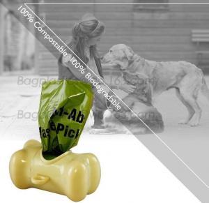 China Pet Dog Tail Holder Poo Pack Clip Waste Picker S L With 20pcs Dog Poop Bag, Custom Printed Paper Dog Poop Bags on sale