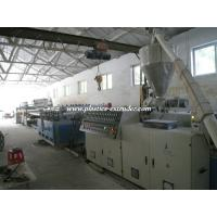 Quality PVC Foam Board Production Line Twin Screw Extruder With 100% Recycled Materials wholesale