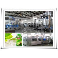 China Hot Automatic Juice Filling Machine / Juice Processing Equipment With PLC Control on sale