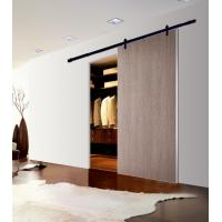 Quality 40MM Thickness Melamine Aluminum Frame Barn Door Sliding Door for Closet wholesale