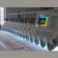 Quality Flat Computerized Embroidery Machine without Trimmer, Used in Traditional Garments wholesale