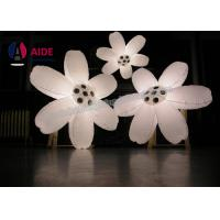 Quality Artificial Inflatable stage Decoration , Inflatable Flowers For Wedding Decorations  wholesale