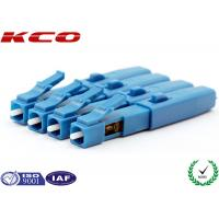 Quality SM 9/125 Fiber Optic Fast Connector LC UPC Un Polished Fiber To The Home wholesale