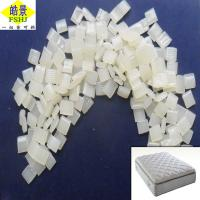 Quality Non Woven Mattress Glue , White Hot Melt Adhesive Glue Granule With Fluidity wholesale