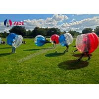 Cheap 1M Pvc Inflatable Sports Equipment Blow Up Human Hamster Ball For Outdoors for sale