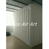 Cheap 3mL*3mW*2.5mH Colorful Led Inflatable Photo Booth Cube tent/Inflatable Cabin for for sale