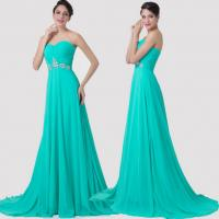 Quality Custom Bead Chiffon Floor Length Long Evening Dress For Formal Cocktail Party wholesale