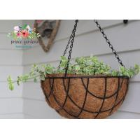 Quality Fashion Colorful Decorative Hanging Flower Pots Garden Ornamental wholesale