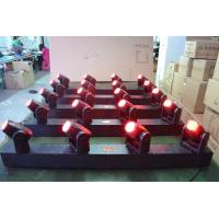Quality RGBW DMX512 10W LED 4Heads Moving Head Beam Light For Nightclubs Using wholesale