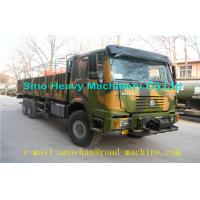Quality Colourful Sinotruk 4 x 4 / 8 x 8 All Wheel Heavy Cargo Trucks 30 - 80t  371hp  WITH ONE BED AND AIR CONDITIONER wholesale