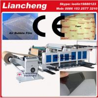 China Bubble film, EPE, paper, plastic etc drum material flat die cutting creasing machine on sale