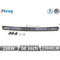 Quality Cree Chip Curved 50 Inch 288W Led Light Bar for Off Road Waterproof IP67 wholesale