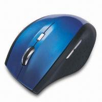 Buy cheap 2.4GHz Wireless Laser Mouse, Different Injection Colors and Rubber Coating from wholesalers