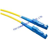 Quality FC SC LC E2000 UPC Optical Fiber Patch Cord Customized For FTTX wholesale