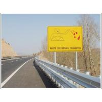 Quality Custom Road Safety Hazard Traffic Warning Signs with Steel Material wholesale